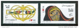 1999 Somalia Love Stamps Timbres Amour Set MNH** - Somalia (1960-...)