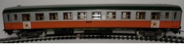 HO Lima SNCF Voiture FTS 2 Eme Classe 4 Essieux - Scompartimento Viaggiatori