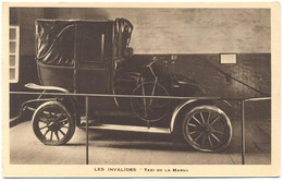 Tematica- Taxi & Carrozzelle - Les Invalides: Taxi De La Marne - Not Used - Taxi & Carrozzelle