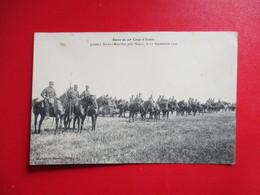 CPA REVUE DU 20 è CORPS D'ARMEE 54 ART SUR MEURTHE LE 11 SEPTEMBRE 1909 CAVALIERS - Manoeuvres