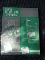 Revue Technique Automobile TRIUMPH TR4 Et TR4 A - N°240 Avril 1966 - Auto/Motorrad