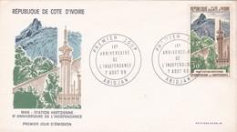 Ivoorkust : Nrs 287 / 289 / 295  FDC - Côte D'Ivoire (1960-...)