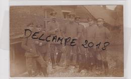 62 PAS DE CALAIS  VAULX VRAUCOURT  CARTE PHOTO  ALLEMANDE MILITARIA 14 18 - France