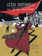 Leda Rafanelli La Gitane Anarchiste - Francesco Satta, Luca De Santis, Sara Colaone - Steinkis - Livres, BD, Revues