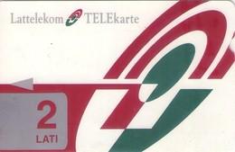 TARJETA TELEFONICA DE LETONIA, (002) - Latvia