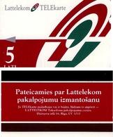 TARJETA TELEFONICA DE LETONIA, (004) - Latvia
