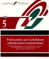 TARJETA TELEFONICA DE LETONIA, (004) - Letonia