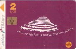 TARJETA TELEFONICA DE LETONIA, (009) - Latvia