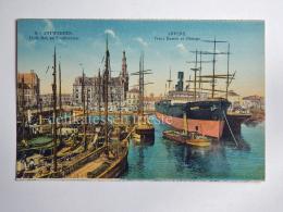 BELGIO BELGIUM Belgique ANTWERPEN ANVERS Ship VANDYK AK Old Postcard - Antwerpen