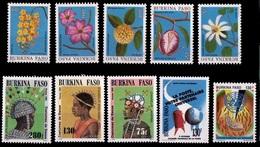 (028,30-32) Burkina Faso / 1990-91 / Small / Petit Lot / Kleiens Los  ** / Mnh  Michel 1248//1260 - Burkina Faso (1984-...)