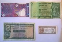 Lot De 4 Billets De Banque HONG KONG Dollars - Hong Kong
