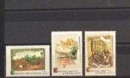 Australia -1982  CHRISTMAS, STAMP WEEK,NATIONAL GALLERY, CULTURE SETS MNH 4 SCNS - 1980-89 Elizabeth II