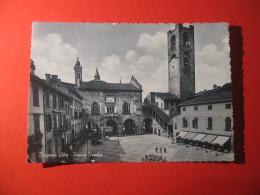 CARTOLINA  BERGAMO  ALTA PIAZZA VECCHIA     ANIMATA       D - 3677 - Bergamo