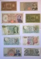 Lot De 10 Billets De Banque ITALIE - Italie