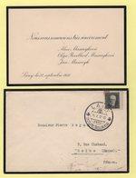 Lettre De Remerciement Pour Les Condoléances - 1937 - Lany - Czechoslovakia