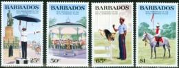 BARBADOS 1985 150th Anniversary Of The Royal Police Dog Fauna MNH - Barbados (1966-...)
