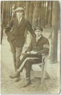 Carte Photo. Militaria. Soldat. Prisonnier. Cachet Au Dos. 1918. - Krieg, Militär