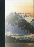 2015-NORVEGE-YEAR BOOK-12 CPL.  SETS = 28 VAL.-M.N.H.-LUXE !! - Neufs