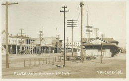 Plaza And Railroad Station /Truckee - United States