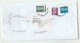 2002 GB COVER To CORDENONS 'Sconosciuto Zona 15' Italy Post Marking RETURNED TO SENDER  Reading Stamps - 6. 1946-.. Republic