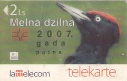TARJETA TELEFONICA DE LETONIA, FAUNA (022) - Latvia