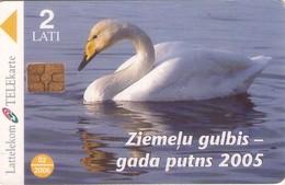 TARJETA TELEFONICA DE LETONIA, FAUNA (023) - Letonia