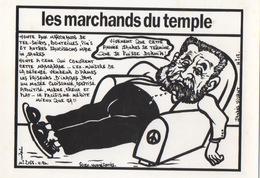 Illustrateur LARDIE (JIHEL) - Politique - Les Marchands Du Temple - Année Jaurés - Contemporain (à Partir De 1950)
