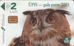 TARJETA TELEFONICA DE LETONIA, FAUNA (026) - Latvia