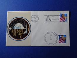 STATI UNITI USA 1996 MISSIONE SPAZIALE STS-75 SPACE SHUTTLE N. 1 BUSTE FILATELICHE - Storia Postale
