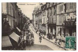 89 YONNE - TONNERRE Rue Rougemont, Attelage Exceptionnel - Tonnerre