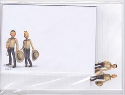 Belgie : Set  Briefpapier En Omslagen => Suske & Wiske  ( 2 Stuk ) - Autres Collections