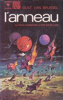 Science Fiction Marabout L Anneau La Terre Condamnée à Mort Par La Lune N°542 Gust Van Brussel 1975 - Marabout SF
