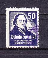 Gebuehrenmarke Der Gemeinden, Freiherr Vom Stein, 50 Pfg (48234) - Gebührenstempel, Impoststempel