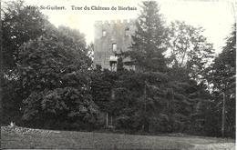 Mont-Saint-Guibert - Bierbais (1435) : La Tour Du Château De Bierbais. CPA Peu Courante. - Mont-Saint-Guibert