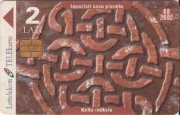 TARJETA TELEFONICA DE LETONIA, (037) - Latvia