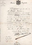 MARINE IMPERIALE - Nomination Mr BERARD Antoine - Commandant Le Vaisseau L'HERCULE  Pénitencier à BREST - Août 1969 - Boten