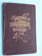 Commune De RAMET-IVOZ Carnet De MARIAGE De Dabée Henri & Paul Augustine Antoinette 5/7/1913 ( Details See Photo ) !! - Non Classés