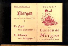 Souvenir Humoristique Du Caveau De MORGON à Villié Morgon Rhône Beaujolais - Cartes