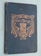 Commune De VILLERS Le BOUILLET Carnet De MARIAGE De Duchesne & Favaux Le 20/9/1919 ( Details See Photo ) !! - Non Classés