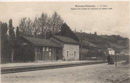 72 Marçon - Vouvray , La Gare,église St Cécile - Other Municipalities