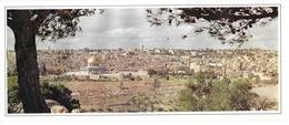 Jerusalem - Holy City ( Vœux De L'UNRWA ) - Israel