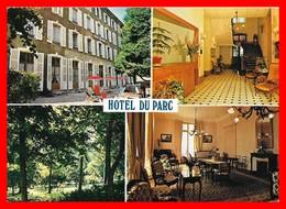 CPSM/gf (38) ALEVARD-les-BAINS.  Hôtel Du Parc, Multivues...A037 - Allevard