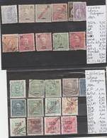 TIMBRES EN LOTS DU PORTUGAL (congo-zanbezie )OBLITEREES NEUF   / * / (*)   Nr VOIR SUR PAPIER AVEC TIMBRES COTE 32.20 € - Angola