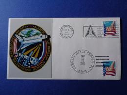 STATI UNITI USA 2000 MISSIONE SPAZIALE STS-106 SPACE SHUTTLE N. 1 BUSTE FILATELICHE - Storia Postale
