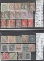 TIMBRES EN LOTS DU PORTUGAL (macao-inde ) OBLITEREES NEUF **  / * / (*)   Nr VOIR SUR PAPIER AVEC TIMBRES COTE 32.65 € - Guinée Portugaise