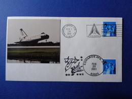 STATI UNITI USA 2001 MISSIONE SPAZIALE STS-98 SPACE SHUTTLE N. 3 BUSTE FILATELICHE - Stati Uniti