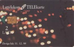 TARJETA TELEFONICA DE LETONIA, OJO (052) - Letonia