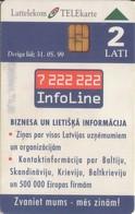 TARJETA TELEFONICA DE LETONIA, (053) - Latvia