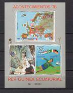 GUINEE EQUATORIALE PA N° 103+104+105  NEUFS SANS CHARNIERE  COTE ? € FOOTBALL  VOIR DESCRIPTION - Equatorial Guinea