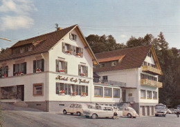 """Opel Kapitän,VW Käfer,Mercedes O 319,Renault R4,Sasbachwalden,Hotel """"Fallert"""",ungelaufen - Passenger Cars"""